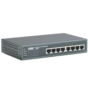 SMC 8-Port Gigabit Switch