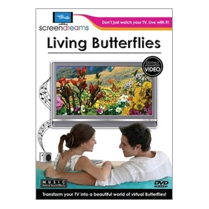 Screen Dreams Living Butterflies DVD Screensaver