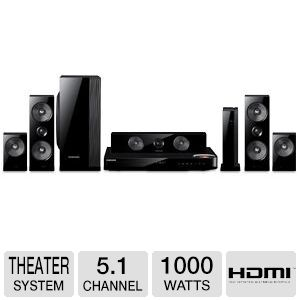 Samsung 5.1 Channel Bluray Home Theater Sys REFURB