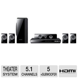 Samsung HT-EM54C 5.1CH Blu-ray Home Theater System