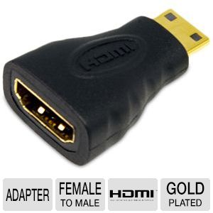 StarTech HDMIACFM HDMI to Mini HDMI Adapter