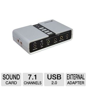 StarTech.com ICUSBAUDIO7D 7.1 USB Audio Adapter Ex