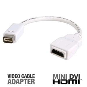 StarTech MDVIHDMIMF Mini-DVI to HDMI Video Adapter