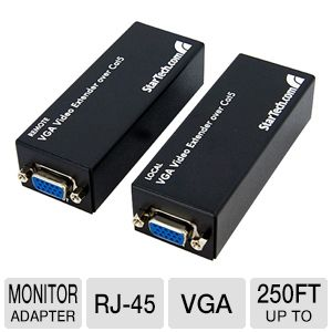 StarTech ST121UTPEP VGA Video Extender over Cat5