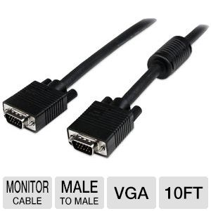 StarTech 10ft M/M VGA Monitor Cable