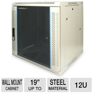 StarTech.com 12U 19in Hinged Wall Mount Server