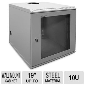 StarTech.com 10U 19in Wall Mounted Server Rack