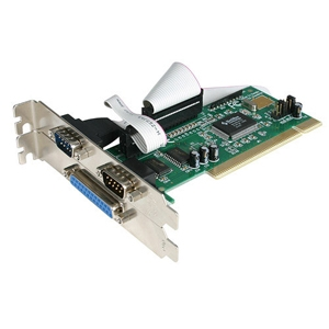 StarTech PCI2S1P 2-Port Serial/1 Port Parallel PCI