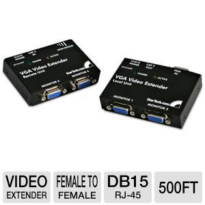 StarTech ST121UTP VGA Video Extender over Cat5
