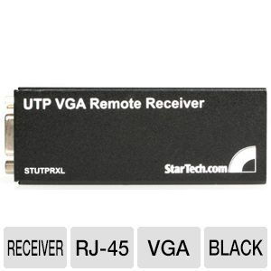StarTech STUTPRXL VGA over Cat5 UTP Receive REFURB