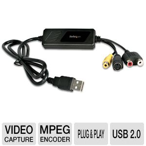 StarTech 2.0 USB Video Capture Cable