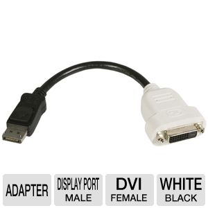 StarTech.com DisplayPort To DVI Video Converter