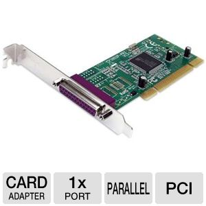 StarTech PCI1PECPDV 1 Port Parallel PCI Card