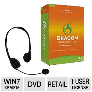 Nuance Dragon Home 11.5 Naturally Speaking