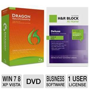 Nuance Dragon Naturally Speaking Home 12 So Bundle