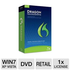 Nuance Dragon Naturally Speaking Software
