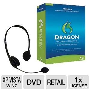 Nuance Dragon Naturally Speaking 11 Premium