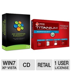 Nuance PDF Converter Professional 7 Softwar Bundle