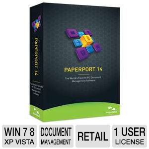 Nuance Paperport 14 Document Management Software