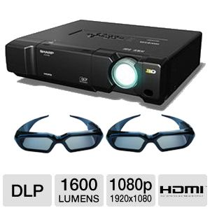 Sharp 3D 1080p Home Theater DLP Projector