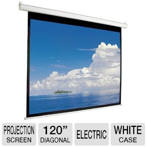 "Mustang 120"" Diag. 4:3 Electric Projector Screen"