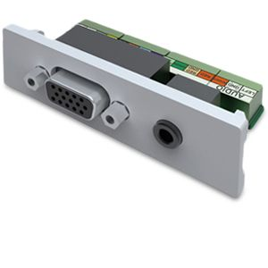 Vision 15pin VGA + 3.5mm Audio Socket