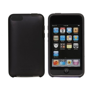 Speck IT2-SAT-BK iPod Touch 2G SeeThru Satin Case