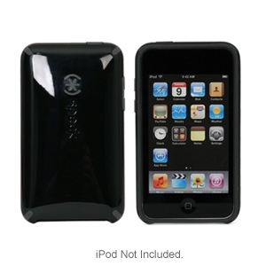 Speck IT2-CNDY-BKGY iPod Touch 2G CandyShell Case