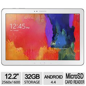 "Samsung Galaxy Tab Pro 12.2"" 32GB Android White"