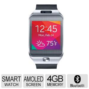 Samsung Gear 2 Titan Silver Smart Watch