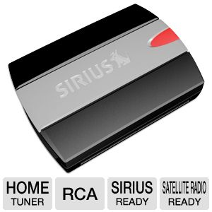 SiriusXM SCH1 SiriusConnect Home Tuner