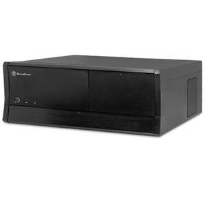Silverstone Grandia GD01B-R Black ATX HTPC Case