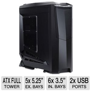 Silverstone Raven RV01B-W Black Full Tower Case