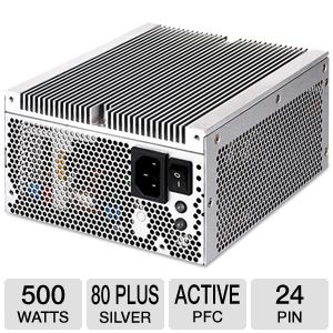 SilverStone Nightjar 500W Power Supply