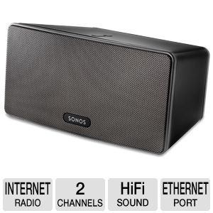 Sonos PLAY:3 Wireless Hi-Fi System 