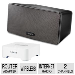 Sonos PLAY:3 Wireless Hi-Fi System Bundle