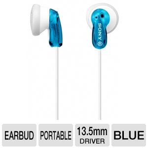 Sony MDRE9LP/BLU Fashion Earbud Headphones