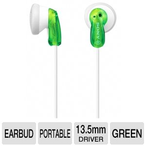 Sony MDRE9LP/GRN Fashion Earbud Headphones