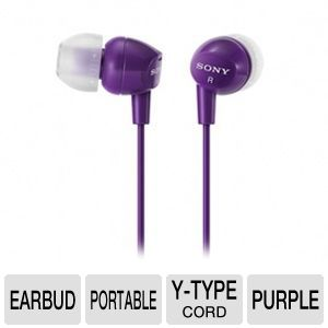 Sony MDREX10LP/VLT Fashion Earbud Headphones