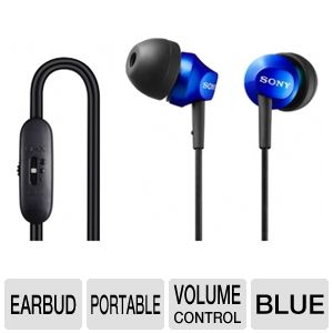 Sony MDREX58V/BLU In-Ear Headphones