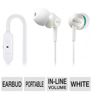 Sony MDREX58V/WHI In-Ear Headphones