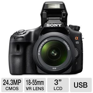 Sony 24MP DSLR Camera with 18-55mm Lens