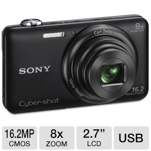 Sony WX80 Cyber-shot Digital Camera in Blac REFURB