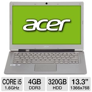 Acer Core i5 320GB + 20GB SSD Ultrabook