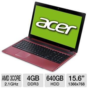 Acer AS5552-5495 Refurbished Notebook PC REFURB