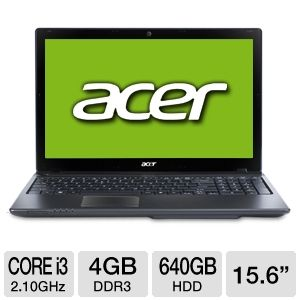 "Acer Aspire Core i3 15.6"" Refurbished Notebook PC"