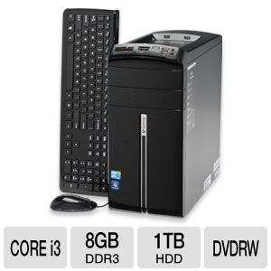 Gateway DX4840-11e Refurbished Desktop PC