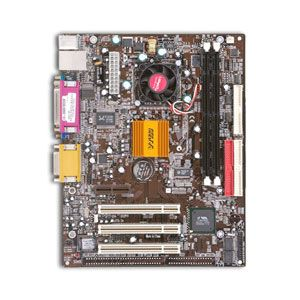 Socket 370 microATX Mainboard
