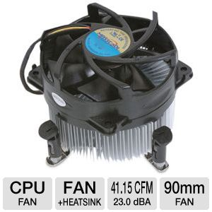 Masscool 8W501B1M3G Socket 775 Fan