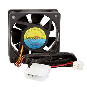 Masscool 60mm High Speed Ball Bearing Case Fan